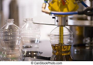 橄欖油, 工廠, 橄欖, 生產