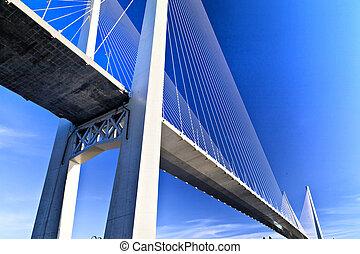 橋梁, 懸挂, 大