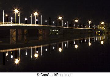 橋梁, 瑞典, 教堂,  umea