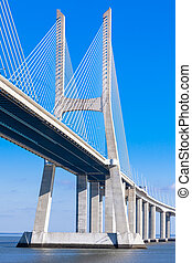 橋梁, 里斯本, vasco, da, gama, gama), (ponte