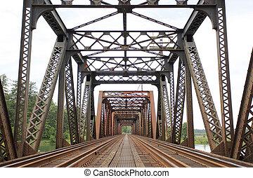 橋梁, 鐵路, 老
