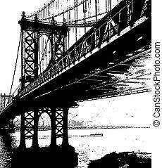 橋梁, francisco, san, cl, 黃金的門
