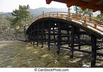 橋梁,  itsukushima, 聖地