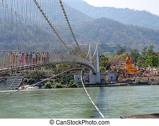 橋梁, laxman, jhula