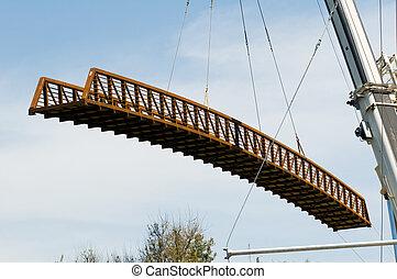 橋, クレーン, 保有物