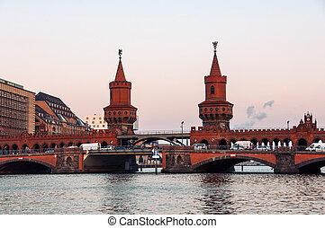 橋, ベルリン, oberbaum