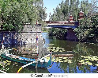橋, ボート