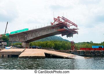 橋, 建設, 進歩