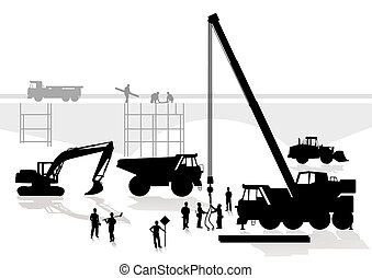 橋, 建設, 道