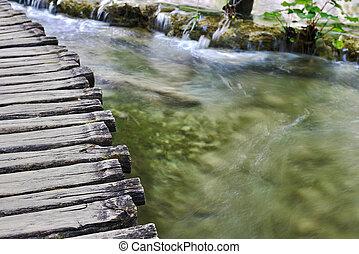 橋, 木製である