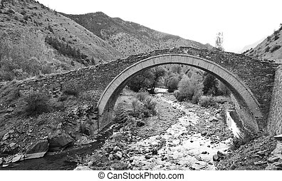 橋, 石, 作られた, オットマン