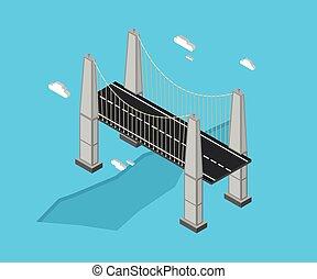 橋, 等大, 涼しい
