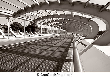 橋, barakaldo, kaiku, スペイン, bizkaia