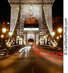 橋, bridgehead, 鎖