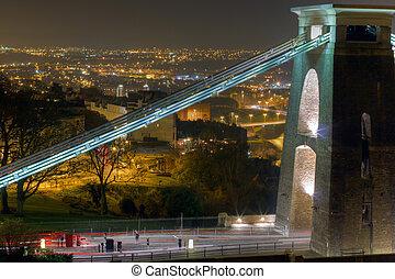 橋, bridgehead, clifton