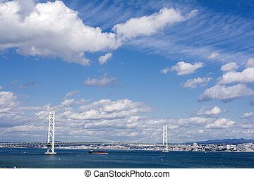 橋,  kaikyo,  akashi
