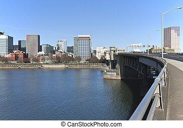 橋, morrisson, crossing.