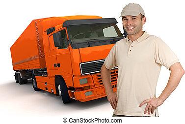 橙, 卡車駕駛員