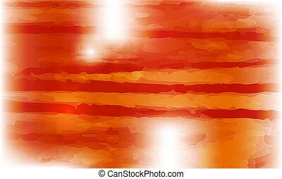 橙, 矢量, 摘要, 背景