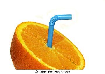 橙, 關閉