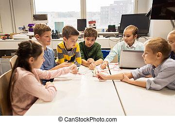 機器人學, 學校, 孩子, 發明, 成套用具
