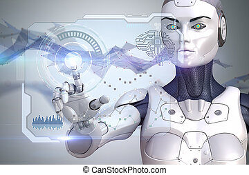 機器人, 是, 工作, 由于, 數据