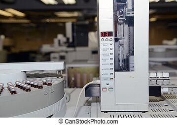 機器, 實驗室, 測試
