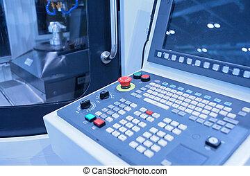 機器, 工具, 控制台, cnc