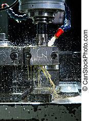 機器, 由于, metal-working, 冷卻劑