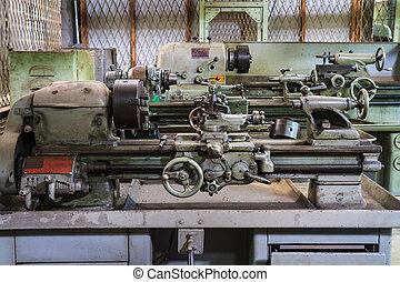 機器, 老, 車床