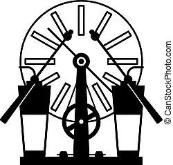機器,  wimshurst, 影響