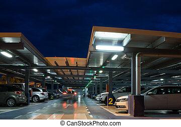 機場, 停車的車庫