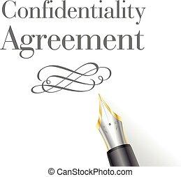 機密性, 合意