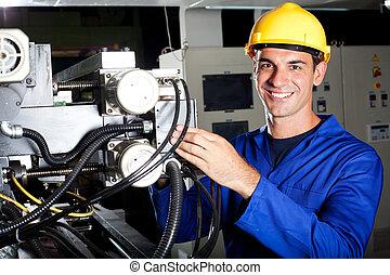 機械操作員, 産業, 仕事