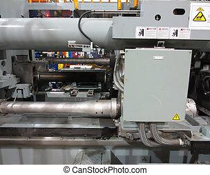 機械, アルミニウム, extrusion