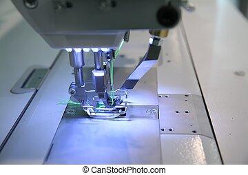 機械, クローズアップ, 裁縫