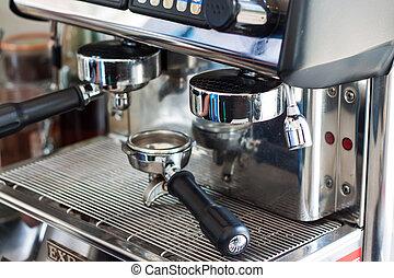 機械, コーヒー