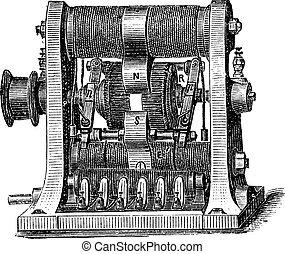 機械, プログラム, 彫版, 型