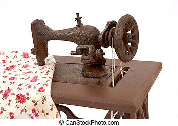 機械, 古い, 裁縫