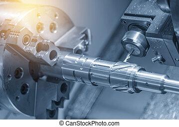 機械, 旋盤, cnc