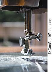 機械, 終わり, 裁縫, の上, メカニズム