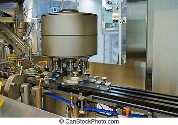 機械, 薬, 生産, 部分