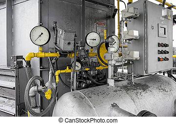 機械 部品, 圧力計