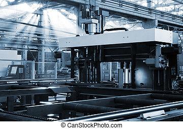 機械, metalworking