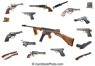 機械, thompson, 銃