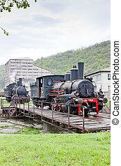 機関車, セルビア, 蒸気, resavica