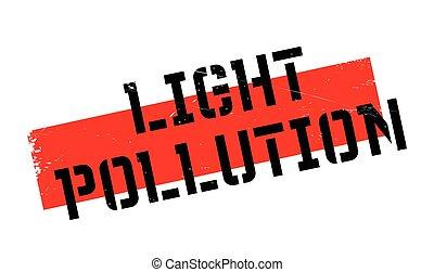 橡膠, 光, 污染, 郵票