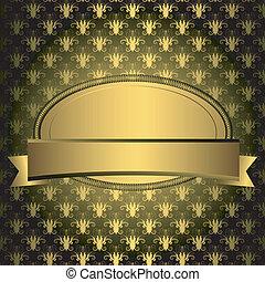橢圓形, 黃金, 框架