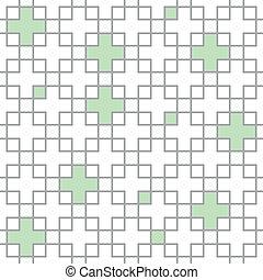 橫過, 圖案, 正方形, seamless