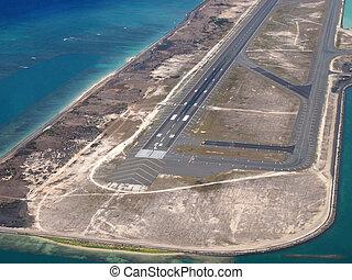 檀香山, 國際机場, 珊瑚, 跑道